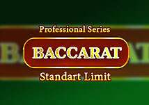 Baccarat Professional Series Standard Limit Baccarat