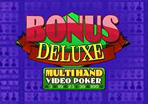 Multihand Bonus Deluxe Video Poker